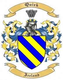 Quirk Family Crest