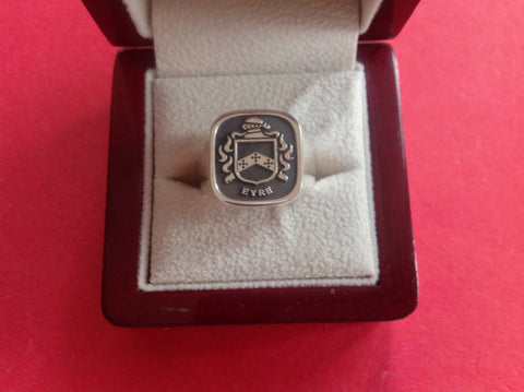 Eyre family crest ring
