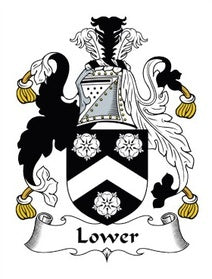 Lower Family Crest