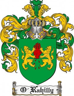 O'Rahilly Family Crest