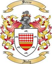 Sorce Family Crest