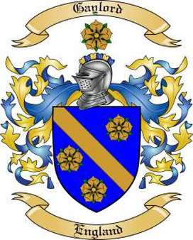 Gaylord Family Crest
