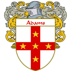 Adams Family Crest England