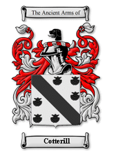 Cotterill Family Crest