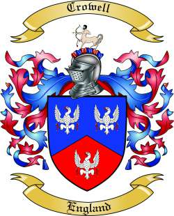 Crowell Family Crest
