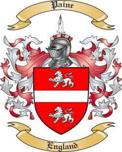 Paine Family Crest