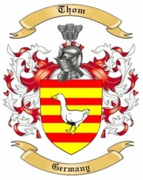 Thom Family Crest