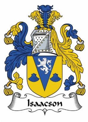 Isaacson Family Crest