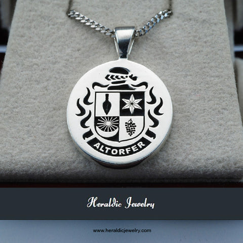 Altorfer Family Crest necklace