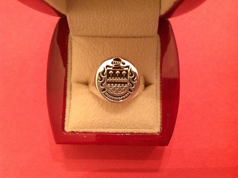 Huntingford family crest ring