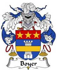 Boyer Family Crest