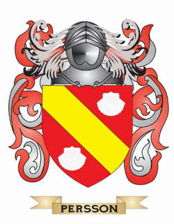 Persson Family Crest