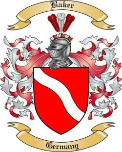 Baker Family Crest Germany