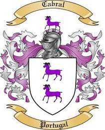 Cabral Family Crest