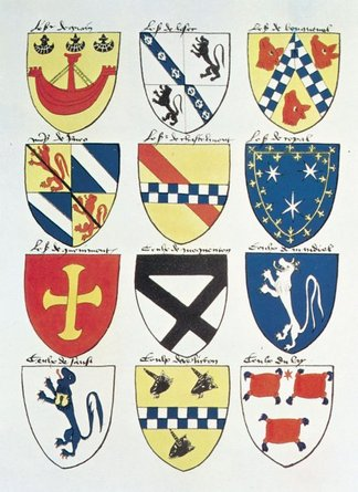 various coat of arms