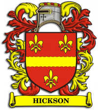 Hickson Family Crest