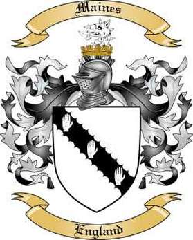 Maines Family Crest