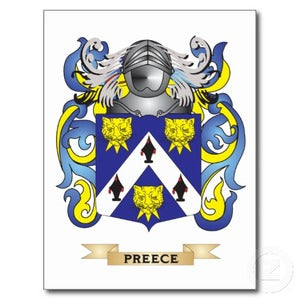 Preece Family Crest