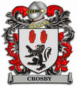 Crosby Family Crest