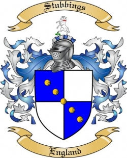 Stubbings Family Crest