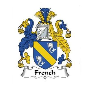French Family Crest