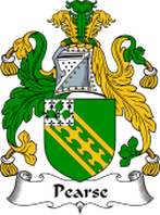 Pearse Family Crest