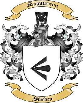 Magnusson Family Crest