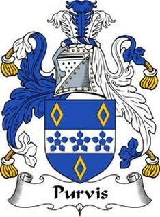 Purvis Family Crest