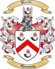 Burdt Family Crest