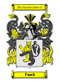 Funck Family Crest
