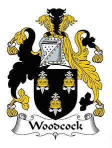 Woodcock Family Crest