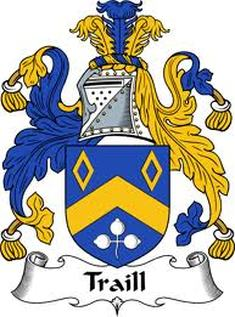 Traill Family Crest