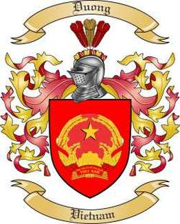 Duong Family Crest