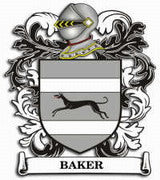 Baker Family Crest Scotland