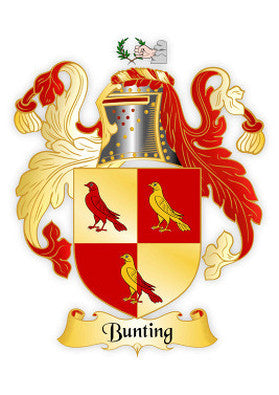 Bunting Family Crest