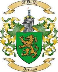 O'Duffy Family Crest