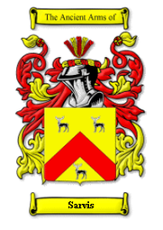 Sarvis Family Crest