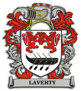 Laverty Family Crest