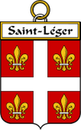 St. Leger Family Crest