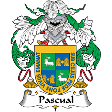 Pascual Family Crest
