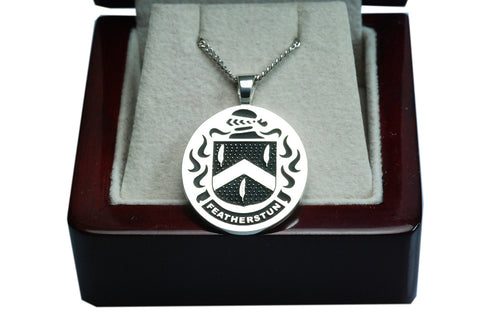 Featherston family crest pendant