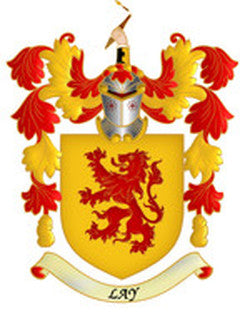 Lay Family Crest