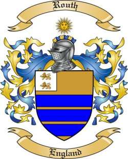 Routh Family Crest