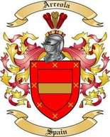 Arreola Family Crest