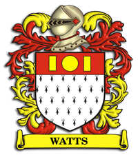 Watts Family Crest