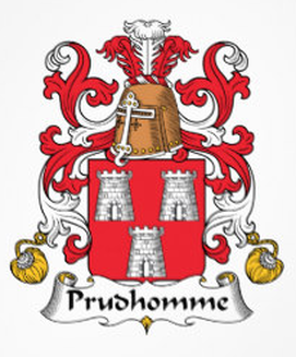 Prudhomme Family Crest
