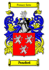 Ponsford Family Crest