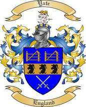 Yate Family Crest