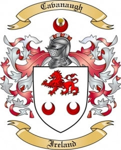 Cavanaugh Family Crest