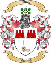 Dacy Family Crest